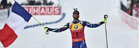 DSV-Starter gehen erneut leer aus: Biathlon-WM bleibt ein Fourcade-Spektakel