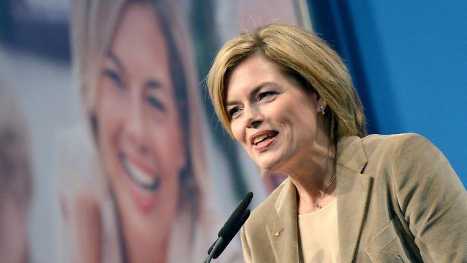 """""""Nicht alles anders, aber vieles besser machen"""": Julia Klöckner im Landtagswahlkampf."""