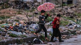 """Langsame Rückkehr zur """"Normalität"""": Waffenruhe lässt Syrer neuen Mut schöpfen"""