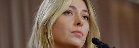 Bei den Australian Open: Tennisstar Scharapowa positiv getestet