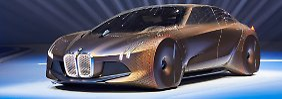 Studie Vision Next 100: BMW schenkt sich schnittige Flunder