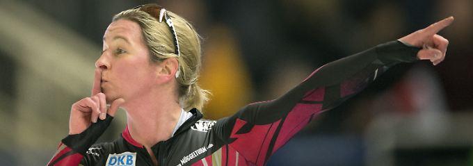 Kämpft mit ihrer Schadenersatzklage über fünf Millionen Euro gegen ihre Zwei-Jahres-Sperre durch die Isu und die Wiederherstellung ihres ramponierten Rufes: Claudia Pechstein.