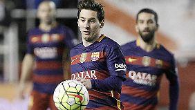 Verletzungsbedingt fehlte Lionel Messi seiner Nationalmannschaft in den letzten vier Spielen.