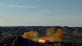 Die Raketen können Ziele in 2000 Kilometer Entfernung treffen.