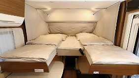 Trotz der nötigen Askese beim Gewicht sollte es in der neuen B-Klasse keine Abstriche beim Wohnkomfort geben.