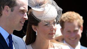 Promi-News des Tages: Kate, William und Harry finden kein Hotel