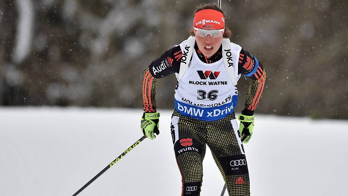 """""""Das dritte Rennen und die dritte Medaille - das ist schon Wahnsinn"""": Laura Dahlmeier."""