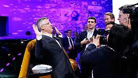 """Offiziell trennen sich VW und Michael Horn (l.) in """"gegenseitigem Einverständnis""""."""