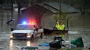 Mindestens drei Tote in Louisiana: Südosten der USA von massiven Fluten heimgesucht