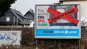 Umfrage vor Landtagswahlen: AfD landet in Sachsen-Anhalt vor der SPD