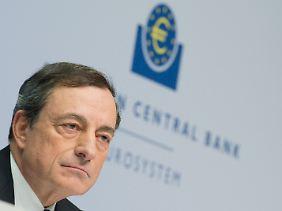 Hält starr an seiner Linie fest: EZB-Chef Mario Draghi.