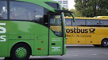 Guter Service, große Preisunterschiede: Fernbusse im Test