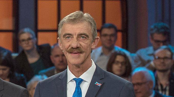 Uwe Junge ist Spitzenkandidat der AfD in Rheinland-Pfalz.