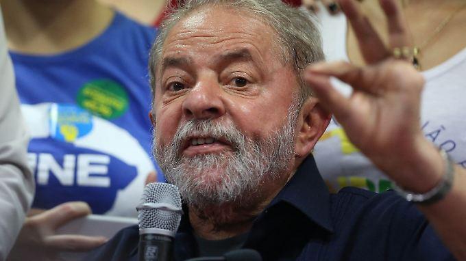Rückzug? Nicht mit Lula.
