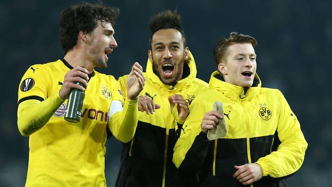 Königsklasse in der Europaliga: Der BVB spielte gegen Tottenham groß auf.