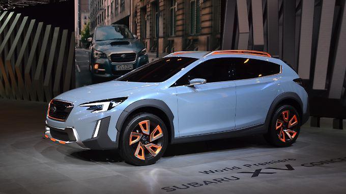 In Genf präsentiert Subaru das XV Concept und damit den Ausblick das künftige Serienmodell.