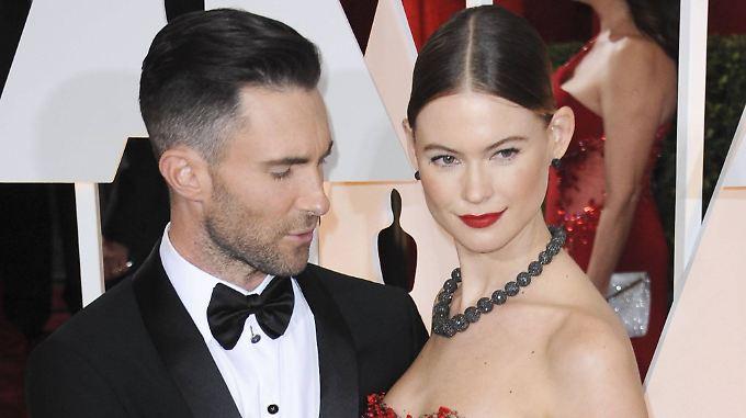 Seit 2014 verheiratet: Adam Levine und Behati Prinsloo.
