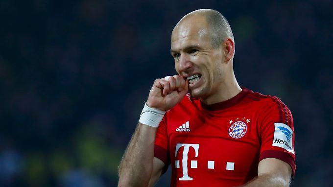 Arjen Robben nimmt Werder Bremen ernst. Sagt er.