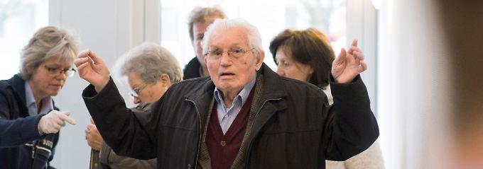 Jakob Wendel, ehemaliger SS-Wachmann.