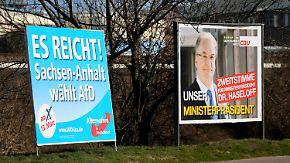 Wundertüte Sachsen-Anhalt: Protestwähler könnten AfD zur zweitstärksten Partei machen