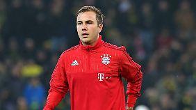 Wieder mittendrin statt nur dabei: Mario Götze beim FC Bayern.