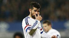 + Fußball, Transfers, Gerüchte +: Costa beißt bei Chelseas Pokalaus zu