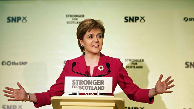 Nicola Sturgeon ist SNP-Chefin von Schottland.