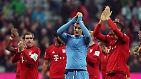 """Die Bundesliga in Wort und Mitgefühl: """"You'll never walk alone"""""""