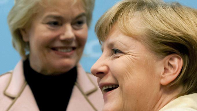Unionspolitikerin Erika Steinbach wähnt sich selbst in einer Diktatur unter Parteichefin Angela Merkel.