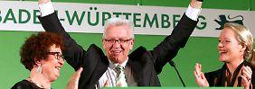 Landtagswahl im Ländle: Kretschmann siegt in Baden-Württemberg