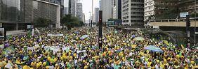 Brasilien erlebt Massenprotest: Drei Millionen demonstrieren gegen Rousseff