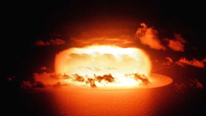 Bild eines Atomwaffentests im Jahr 1956.