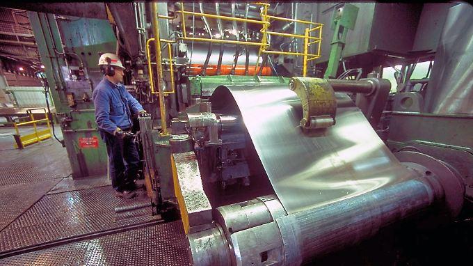 Deutschland, Frankreich und Italien konnten sehr hohe Zuwachsraten bei der Industrieproduktion erzielen.