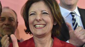 Strahlende Siegerin hat die Wahl: Malu Dreyer