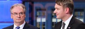 Dritter im Bunde gesucht: Haseloff will mit SPD und Grünen regieren