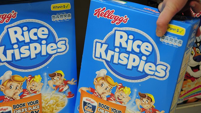Dem Unternehmen zufolge waren wahrscheinlich auch Rice Krispies betroffen.