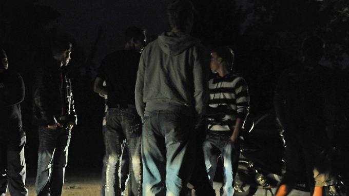 Viele der Randalierer in Köln waren betrunken. (Archivbild)