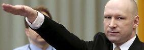 Prozessauftakt in Norwegen: Breivik provoziert mit Hitlergruß