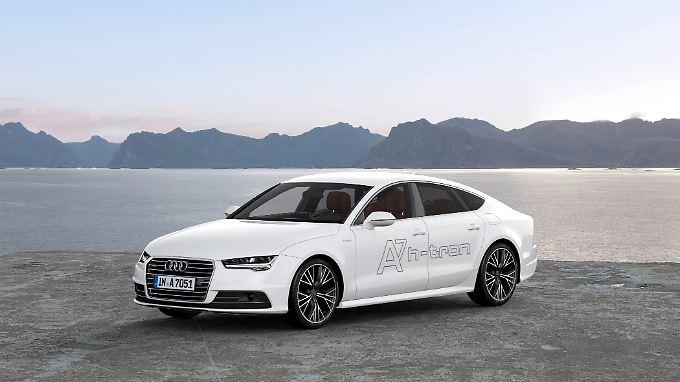 Bereits 2014 hat Audi in New York den A7 h-tron mit Brennstoffzelle vorgestellt.