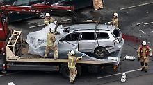 Der Wagen wird jetzt kriminaltechnisch untersucht.