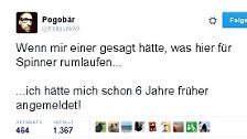 39 aus Billionen: #twitter10 - in Tweets