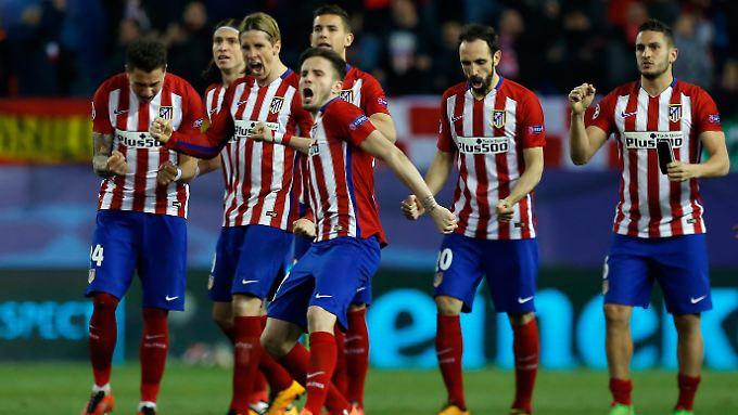 Nach insgesamt 16 Elfmetern war der erneute Viertelfinaleinzug von Atletico Madrid in der Champions League perfekt.