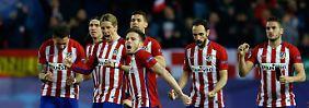 Erst keine Tore, dann einmalig viele: Atletico schlägt Eindhoven nach Elfer-Krimi