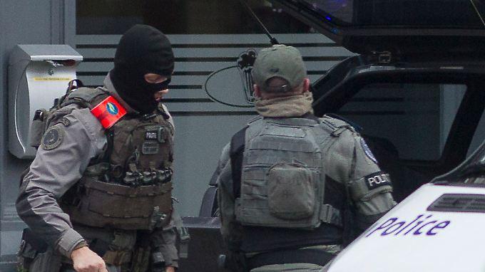 Schüsse in Brüssel: Antiterror-Razzia endet mit einem Toten und Verletzten