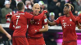 Arjen Robben fehlt den Bayern laut übereinstimmender Medienberichte.