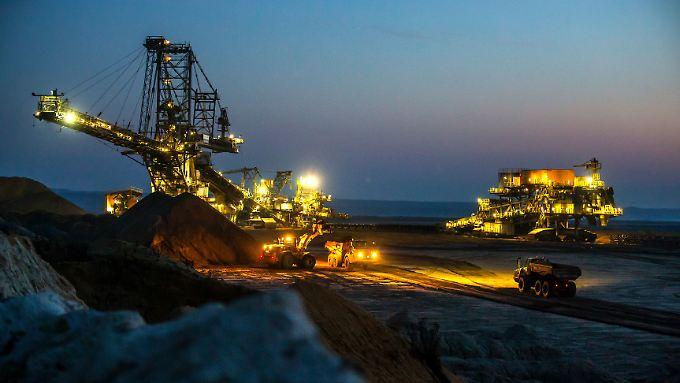 Tagebau bei Welzow.