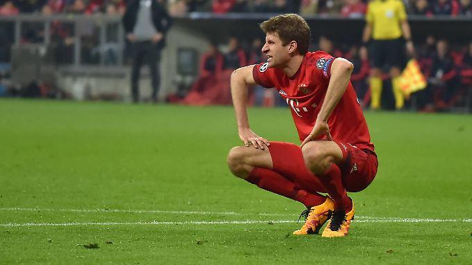 Thomas Müller und seine Bayern-Teamkollegen brauchen ein kleines Wunder.