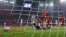 ... und bescherte Juves Torwartlegende Gianluigi Buffon ein drittes Gegentor.