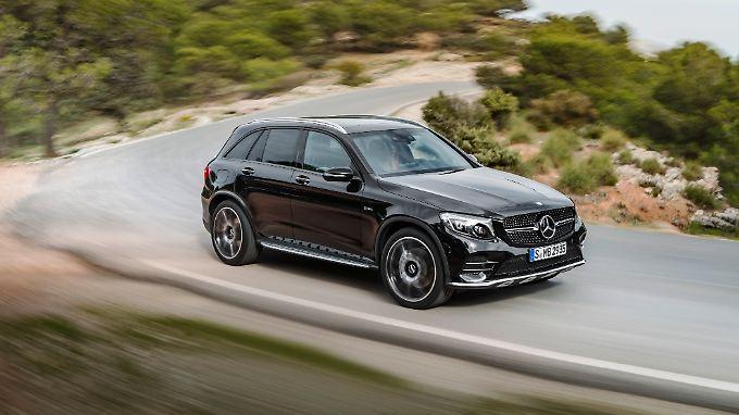 Das neue Topmodell aus dem Hause Mercedes-AMG: der GLC 43 4matic gibt sich dezent, aber sportlich.