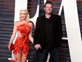 Mittlerweile ist Stefani ganz offiziell mit Blake Shelton liiert.